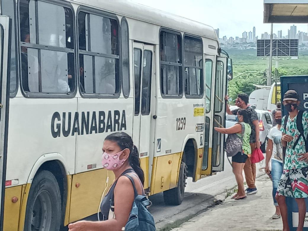 Portal da Tropical - Notícias - Justiça determina retorno de 100% da frota de ônibus de Natal